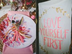 Love Yourself First Girly Gathering | Ruffled
