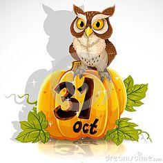 Wise Owl Sit On A Pumpkin - Future tattoo in memory of Rex?