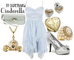 Disneybound- Cinderella outfit Oh the shoes! Cinderella Outfit, New Cinderella, Cinderella Costume, Disney Bound Outfits, Disney Dresses, Disney Clothes, Nerd Clothes, Style Clothes, Disney Inspired Fashion