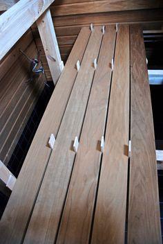 Sauna Design, Wood Slab, Wood Projects, Deck, Sauna Ideas, Saunas, Outdoor Decor, Ant, Home Decor