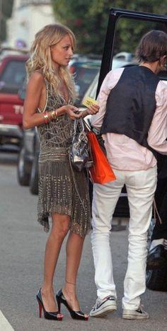 Nicole Richie great dress!
