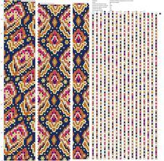 Схемы на 18-22 бисерины – 39 фотографий