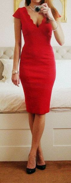 Every woman should own a red dress. It's one or the most fabulous feelings in the world to walk around in a red dress. It immediately gives ...