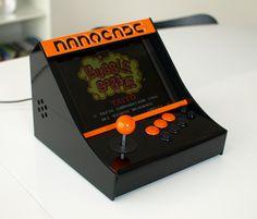 Nanocade:  Netbook turned arcade cabinet