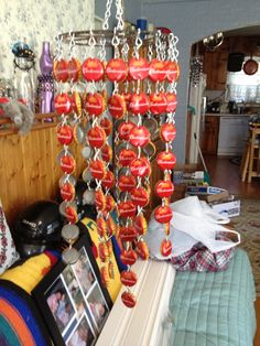 Beer cap wind chime