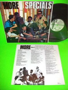 The Specials – More Specials 1980 Vintage Vinyl LP Record PROMO Rat Race SKA #TheSpecials #NewWave