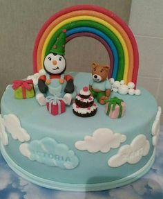 Gateau tchoupi & doudou Gateau Baby Shower, Birthday Cake, Lily, Desserts, Cakes, Recipe, Food, Beverages, Cake Servings