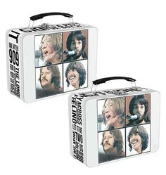THE BEATLES LARGE TIN TOTE by Vandor The Beatles, Storage, Gifts, Presents, Store, Gifs, Storage Ideas, Gift