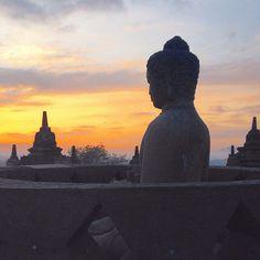My top 10 travel experiences of 2015! Borobudur, Indonesia. www.kelaguk.tumblr.com