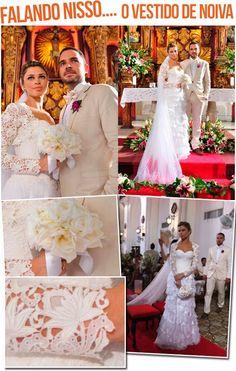 Menina Mulher: vestidos de noiva em renda Renascença ...