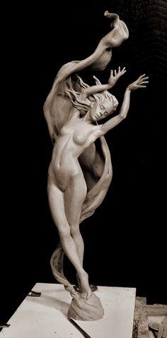 Karl Jensen Creative Fire Clay for Bronze 10 x 32 x 8 inches