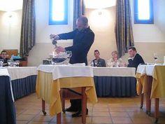 Final Campeonato Mejor Sumiller de la Comunidad Valenciana. Javier Cantos 2º Clasificado.
