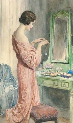William Henry Margetson (British artist, 1861-1940) The Precious Gift