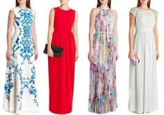 how to wear a maxi dress to a wedding | What to Wear to a Wedding Spring Summer 2014 Wedding Guest Dresses