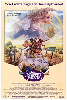 cadwalladery:  The Muppet Movie (James Frawley, 1979)