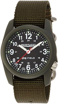 Men's Wrist Watches - Bertucci Mens 11026 Analog Display Analog Quartz Green Watch >>> Find out more about the great product at the image link.