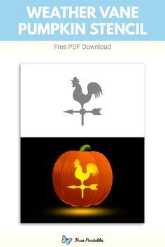 Pumkin Stencils, Printable Pumpkin Stencils, Free Stencils, Serama Chicken, Chicken Pumpkin, Weather Vanes, Pumpkin Decorating, Garden Pots, Pumpkin Carving