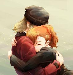 Persona 3 fanart, Shinjiro and Minako Atlus Games, Persona 3 Portable, Shin Megami Tensei Persona, Akira Kurusu, Deadman Wonderland, Female Protagonist, Persona 4, Art Thou, 3 Arts