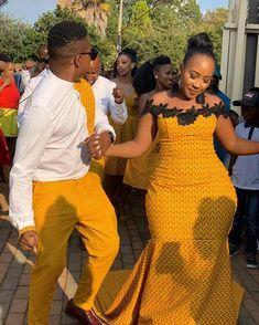 Simple Fashion Tips Shweshwe Dresses Fashion Tips Shweshwe Dresses 2020 South African Traditional Dresses, Traditional Wedding Dresses, Latest African Fashion Dresses, African Print Fashion, African Prints, African Attire, African Dress, African Wear, African Style