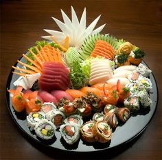 sushi and sashimi More