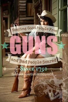 Girls with guns...