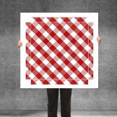 "Furniture Stickers – Sticker for Ikea Lack Table ""Vichy Check ... – a unique product by banjado-aufgemoebelt on DaWanda"