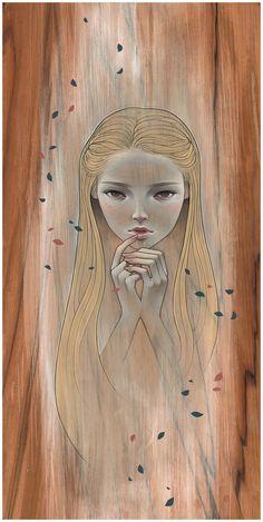 """Fragile Thoughts"" by Audrey Kawasaki Audrey Kawasaki, Illustrations, Illustration Art, Art Nouveau, Surreal Artwork, Foto Art, Arte Pop, Fantastic Art, Portrait Art"
