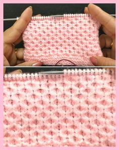 Baby Honeycomb Pattern – Tutorial, – Knitting patterns, knitting designs, knitting for beginners. Baby Knitting Patterns, Knitting Stiches, Free Knitting, Crochet Patterns, Free Baby Blanket Patterns, Sewing Stitches, Knit Stitches, Knitting Needles, Honeycomb Pattern