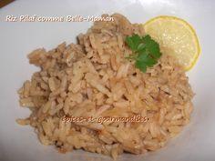 Je vous dévoile la recette de cuisine de mon riz préféré ! C'est une cuisson pilaf et qui s'appelle aussi au gras, tout comme un risotto, mais avec un riz long grain, et avec la touche personnelle de ...