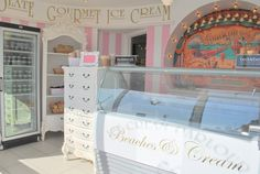 Ice Cream Parlour. If I opened one of these I wouldn't be able to walk through the front door....