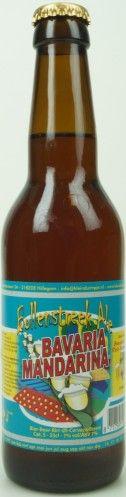 Klein Duimpje Bollenstreek ale - bavaria mandarina   Deze variant van de Bollenstreek Ale van Klein Duimpje is gebrouwen met de Bavaria mandarina hop. Deze hop geeft een mooie fruitig-en bitterheid af aan het bier.