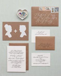 30+ vintage-inspired wedding stationery