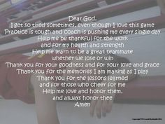 Girl's Basketball Prayer Basketball Prayer by PersonalWordsmith