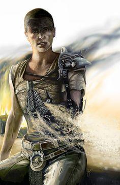 Imperator Furiosa - Mad Max: Fury Road - Katie Sweet
