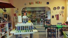 Main  Gemma Mal-Werk Pottery Painting Café in Mainz
