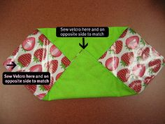 reusable sandwich bags from the Adult Craft Night: March Wrap-Up | City of Austin - Austin Public Library