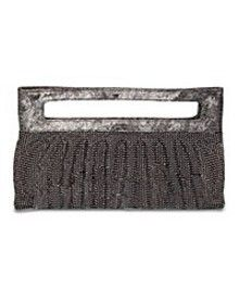 BCBG Metal Mesh Clutch