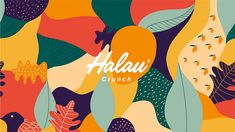 Medellín, Colombia–based design firm Creamos's colorful packaging for Halau takes consumers to the joyful islands of Hawaii.