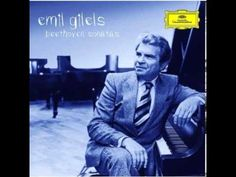 Emil Gilels   Beethoven Sonata No 14 Moonlight - YouTube