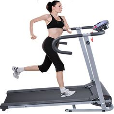 New Electric Folding Smooth Motorized Treadmill Running Walking Home Exercise…