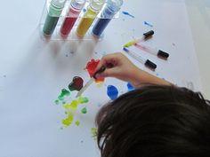 Test Tube painting by Teach Preschool