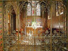Blessed Sacrament Chapel, St Giles', Cheadle, by A. W. N. Pugin