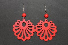 Red and White by Esfir Meilman on Etsy