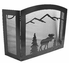 Shelf above sink in bathroom to put cotton swabs/lotion, etc. Cute and makes for a nice, clean counter space! Country Living Decor, Moose Deer, Forest Decor, Shirt Quilt, Camping Crafts, Metal Art, Quilt Blocks, Deer Decor, Rustic Decor