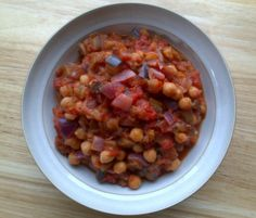 Rocket and Roses Vegan Kitchen: Aubergine and Chickpea Ragout