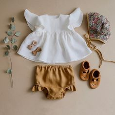@oldnavy • Instagram photos and videos Baby Outfits, Outfits Niños, Girls Summer Outfits, Summer Girls, Summer Tops, Summer Set, Baby Dresses, Summer Baby, Work Outfits