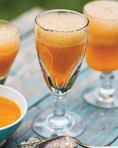 Sweet Paul's Apricot & Rosemary Mimosa Recipe