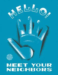 WPA poster art for GOOD Magazine.