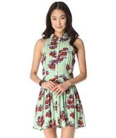 The Asos collar dress would look great on me. The pattern it great. Love it!! 16 Sundresses Perfect For An S.F. Spring — Take Your Pick!