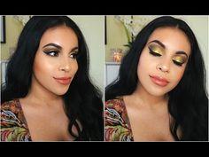 Pop Of Color Makeup Tutorial: Colourpop Telepathy | juicyyyyjas - YouTube